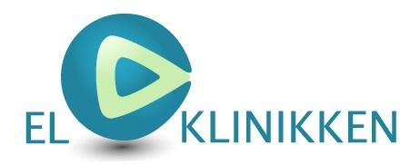 EL-KLINIKKEN Firma logo